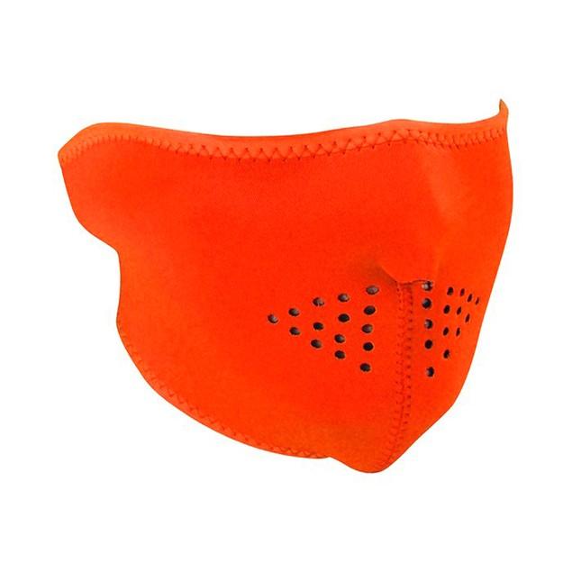 Neoprene 1/2 Face Mask - High Visibility - Orange