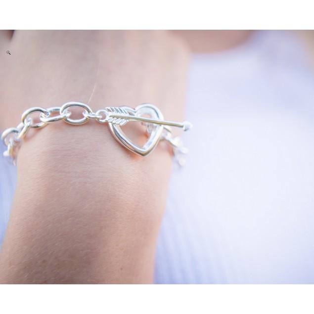 """Cupid Arrow Bracelet - 8.5"""" long"""