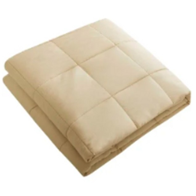 100% Cotton Weighted Blanket 12lb or 20lb (Queen)