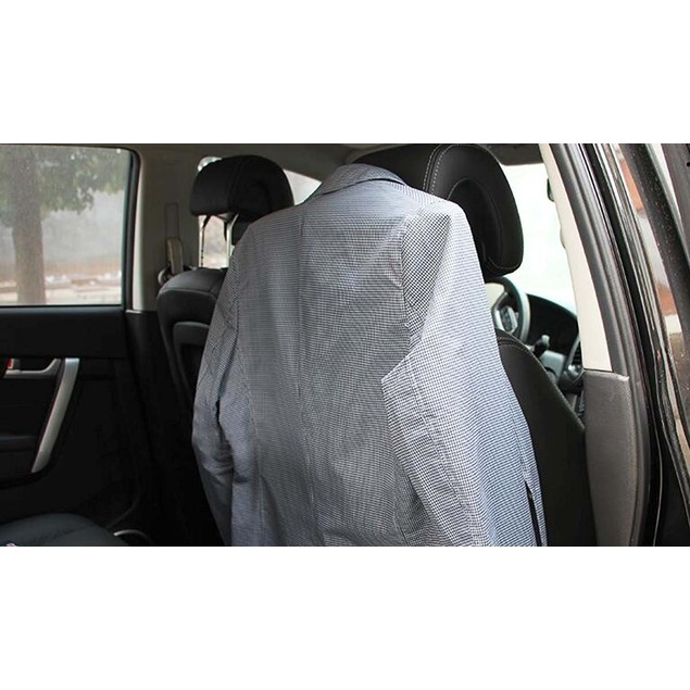 Zone Tech Car Auto Seat Headrest Metal Travel Clothes Suit Jacket Hanger