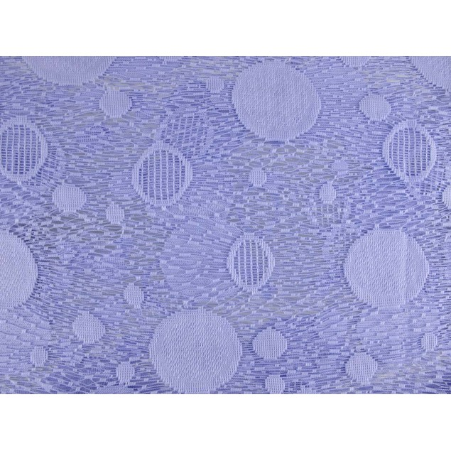 Lavender Mesh Jacquard Scarf Shawl Circle Pattern Womens Fashion Scarves