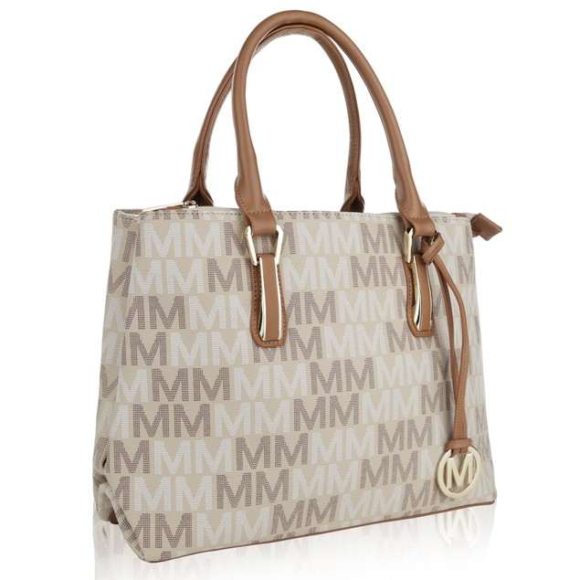 MKF Collection Diane Milan M Signature Handbag by Mia K