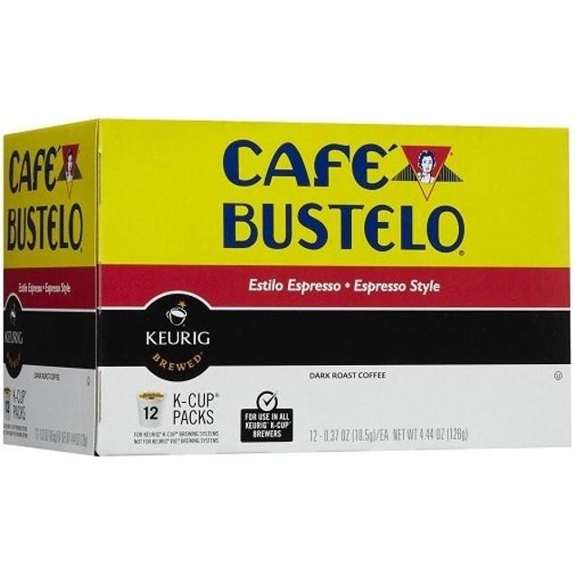 Cafe Bustelo Espresso Style Coffee Keurig K Cup