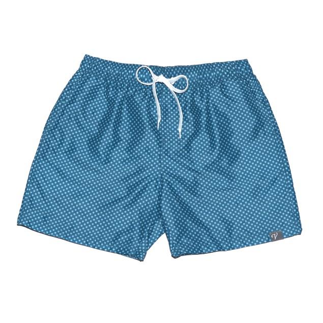 Navy Star Board Shorts