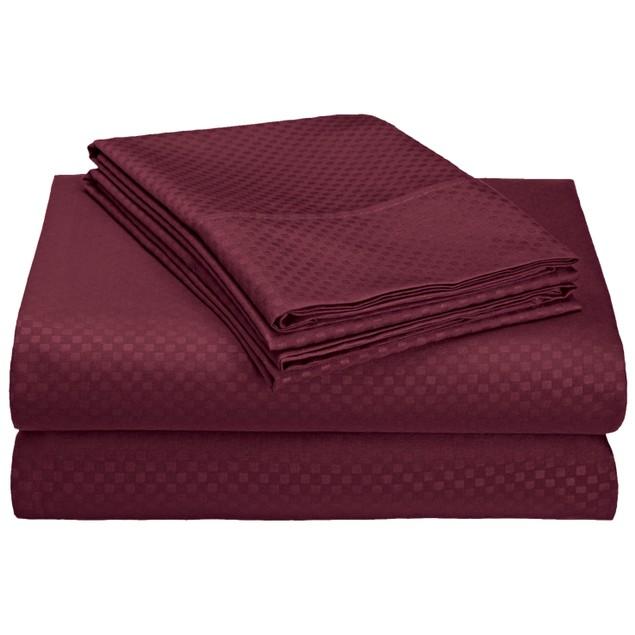 4-Piece Ultra-Soft Wrinkle Free Embossed Sheet Set