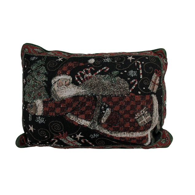 Susan Winget Holiday Greetings 18 X 12 Inch Throw Pillows