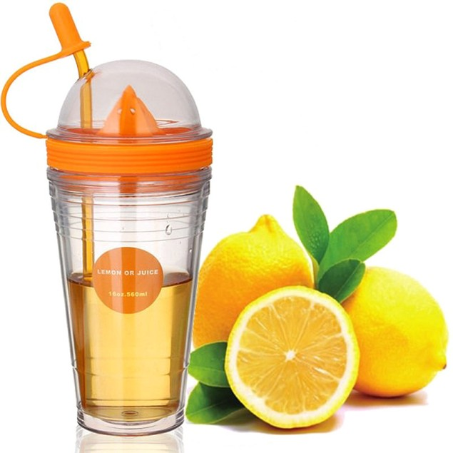 Juicer Travel Cup with Straw