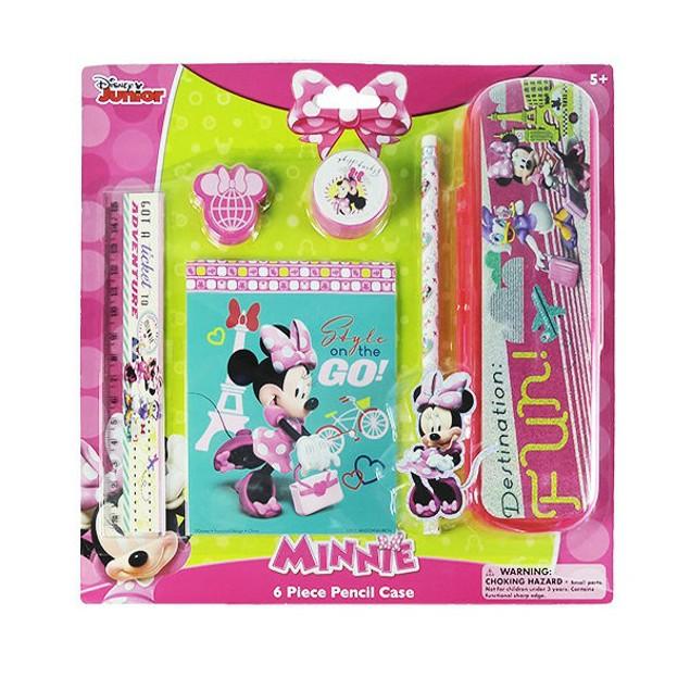 6-Piece Minnie's Bowtique Pencil Sets