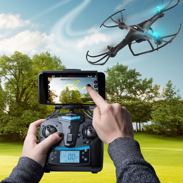 Quadcopter Drone w/ HD Camera for Adults or Kids - VR Headset Compatibility