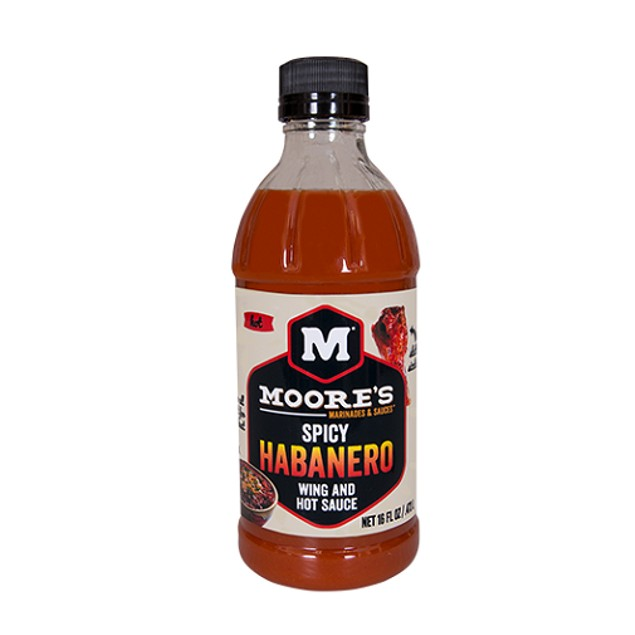 Moore's Spicy Habanero Wild and Hot Sauce