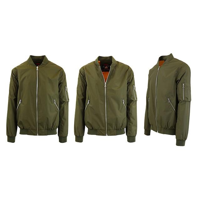 Men's Lightweight Bomber Flight Jacket