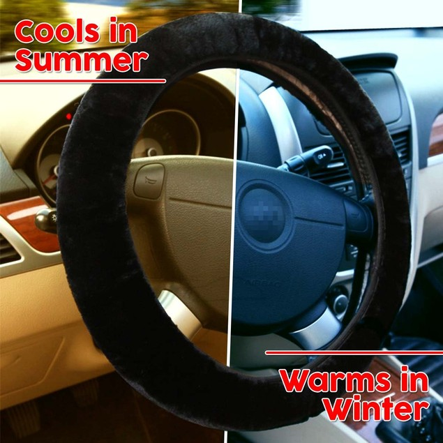 Zone Tech Steering Wheel & Heated Seat Bundle