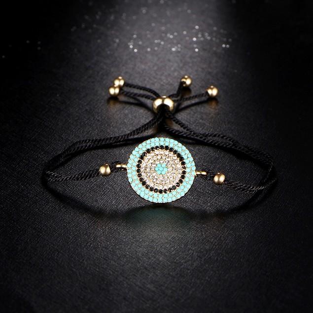 Crystal Evil Eye Bracelet
