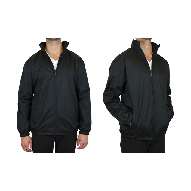Men's Fleece-Lined Hooded Windbreaker Jacket (S-2XL)