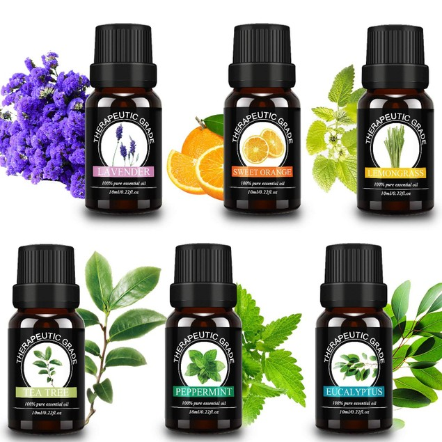 Waloo Pure Essential Oils (6-Pack)