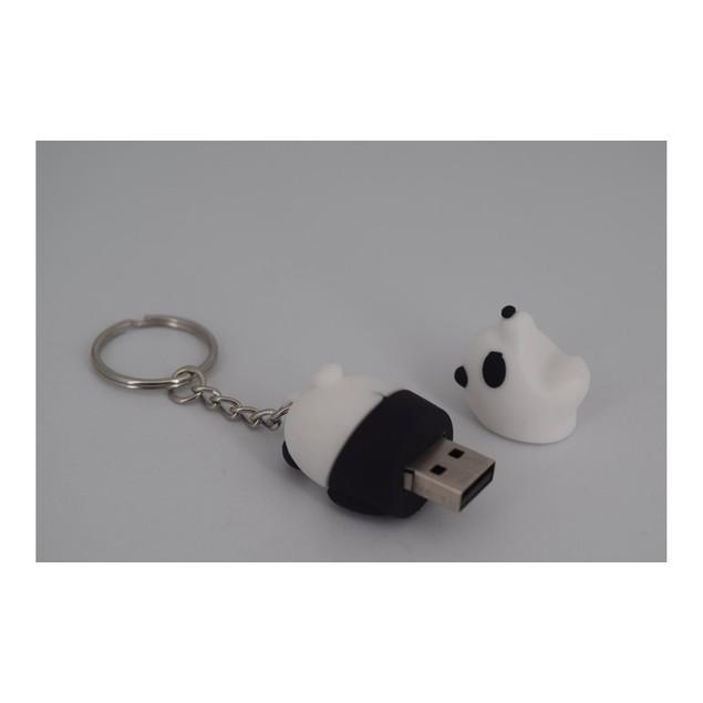 Panda 64GB USB Drive Keychain
