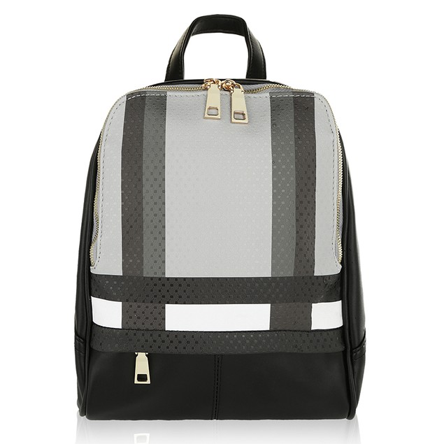 MKF Collection Unisex Fashion Paris Backpack by Mia K