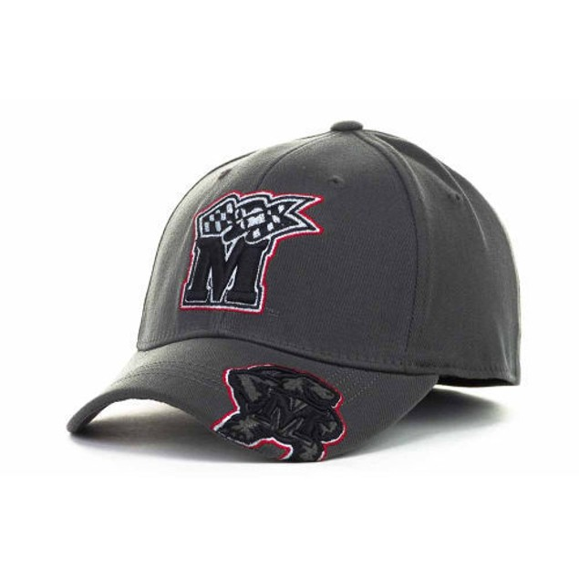 """Maryland Terrapins NCAA TOW """"All Access Charcoal"""" Stretch Fitted Hat"""
