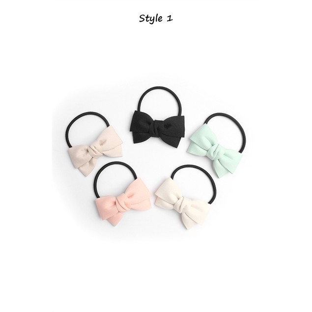 Cute Bow Hair Tie 2 Styles Bellechic