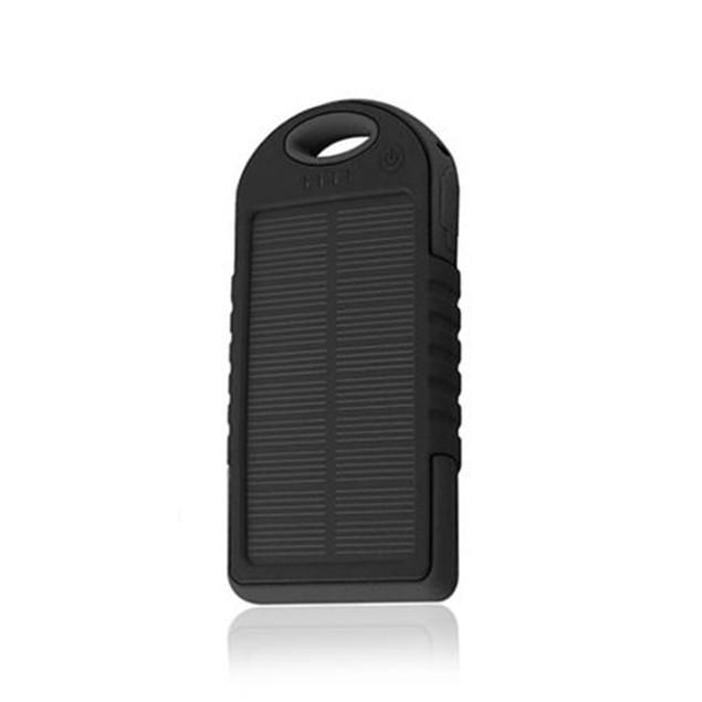 Universal 5000 Solar Powerbank w/ LED Panel