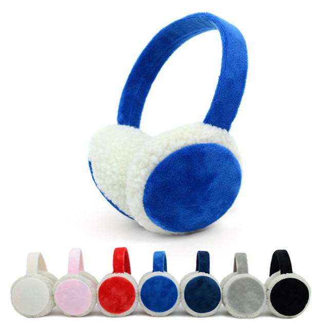 2-Pack Womens Extra Furry Ear Muffs