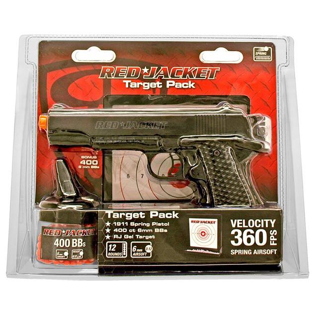 2-Pack Red Jacket 1911 Airsoft Handgun Kit