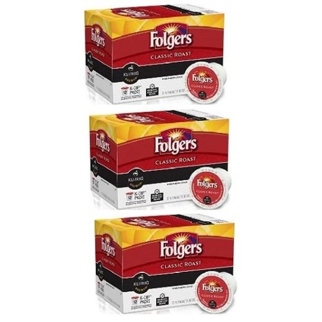 Folgers Classic Roast Keurig K-Cups 3 Pack