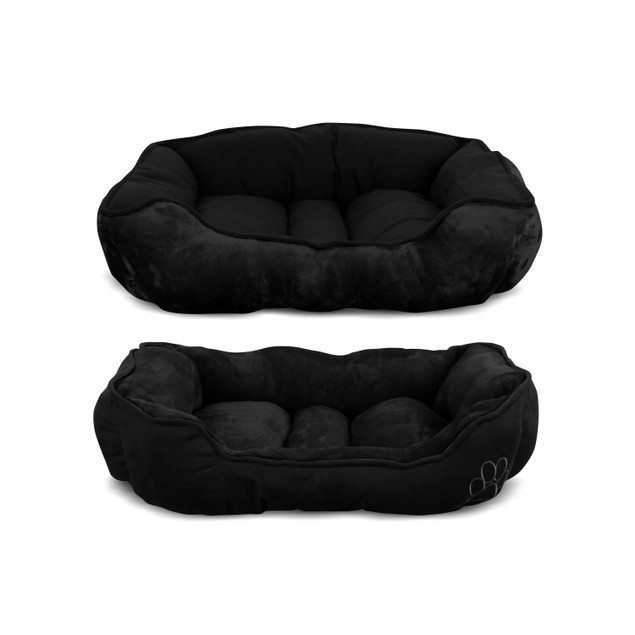 Double-Sided Ultra-Soft Suede Pet Bed