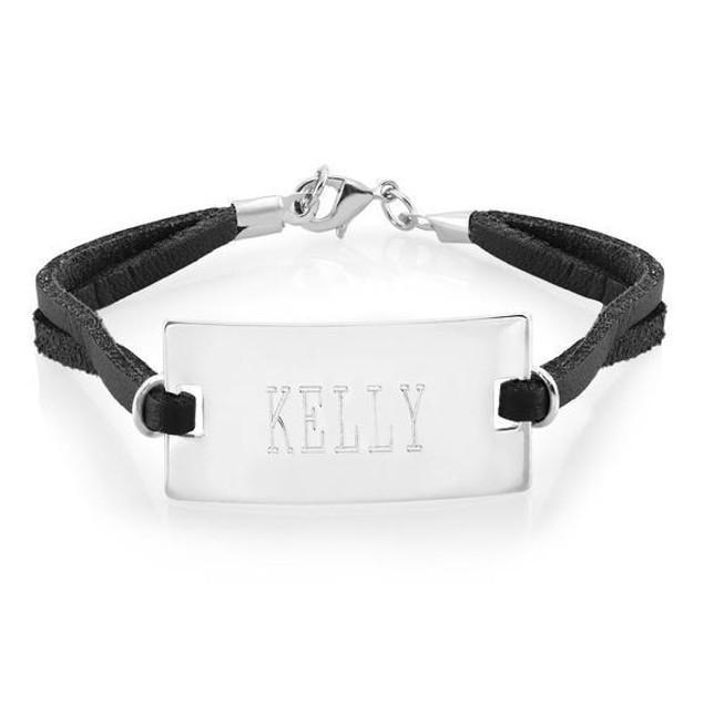Personalized Bar Bracelet