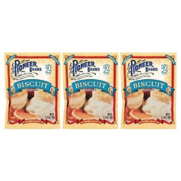 Pioneer Brand Biscuit Gravy Mix 3 Packet Pack