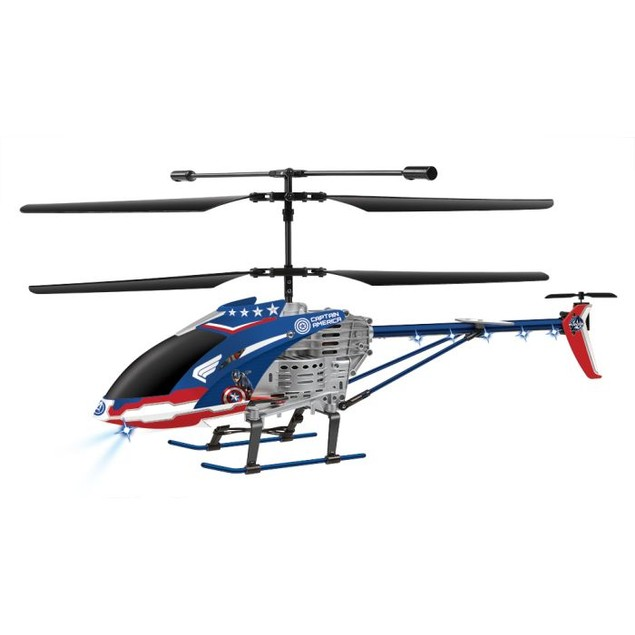 Marvel Avengers Age of Ultron Captain America 3.5 Channel RC Helicopter