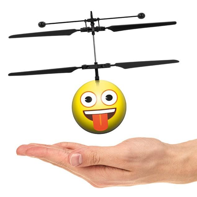 Emoji IR UFO Ball Helicopter