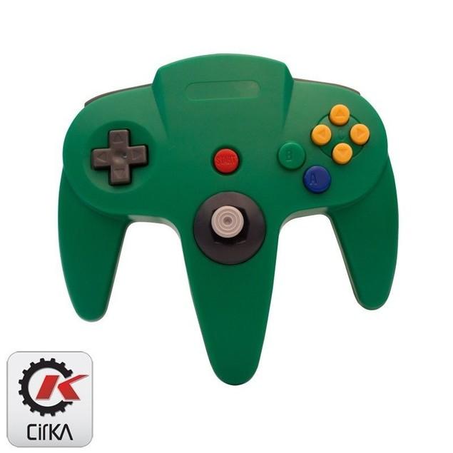 N64 Cirka Nintendo 64 Controller Green
