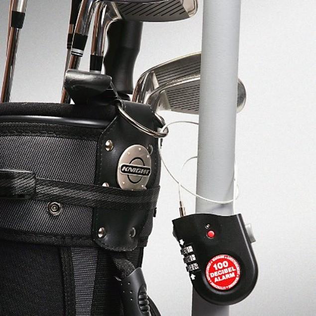 2-Pack ReTrak Retractable Cable Lock with Alarm