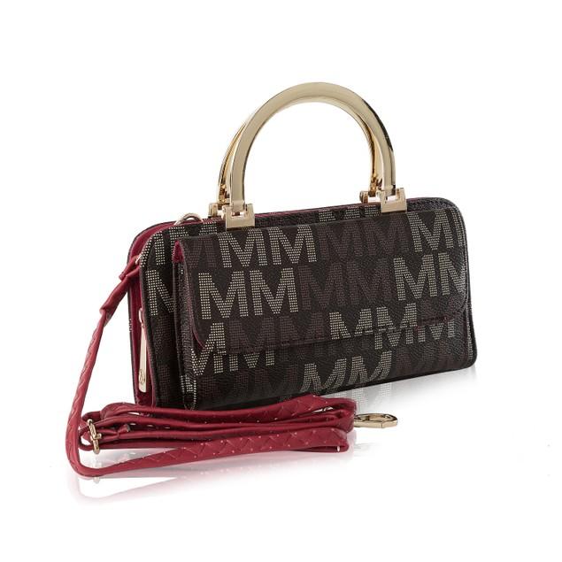 MKF Collection Donatella M Signature Wallet Crossbody Bag by Mia K.
