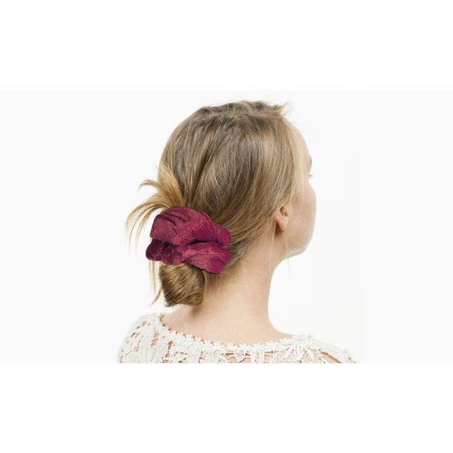 20-Pack Premium Velvet Elastic Hair Scrunchies