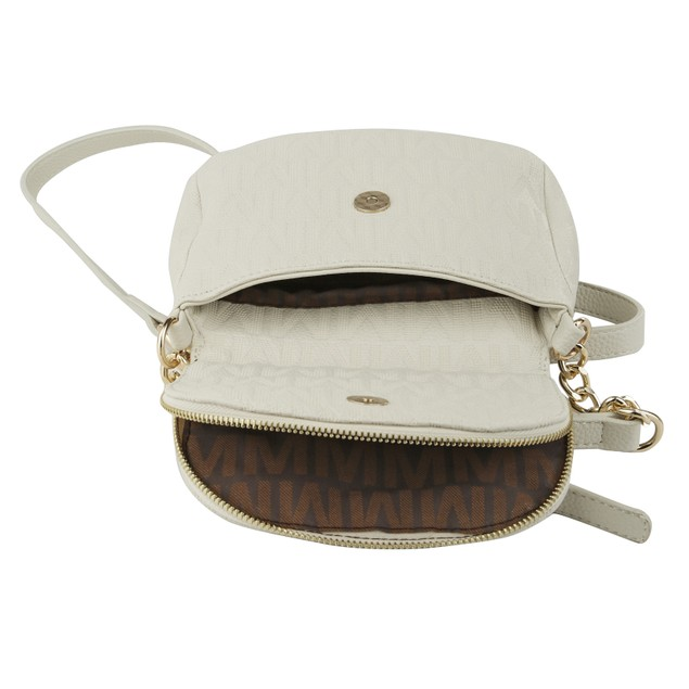 MKF Collection Cassidy M Signature Cross-body Bag by Mia K.