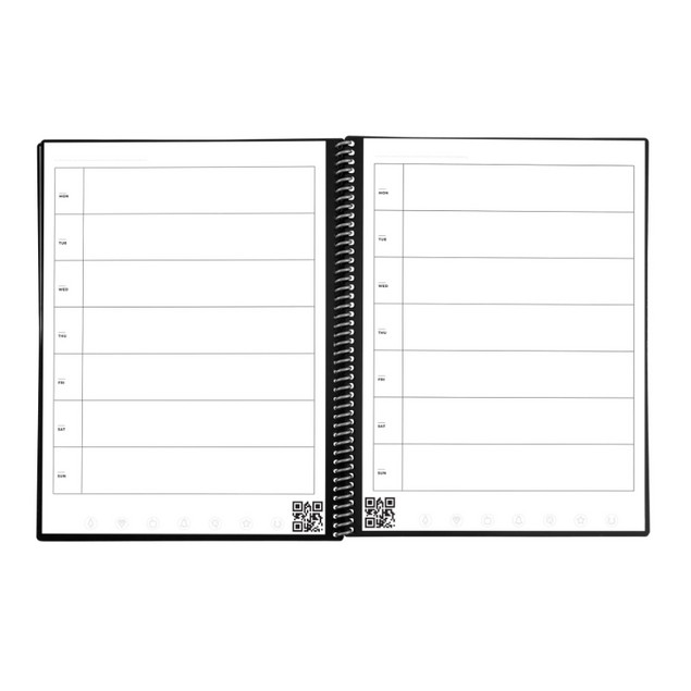 Rocketbook Fusion Smart Reusable Notebook with 1 Pen (New Generation)