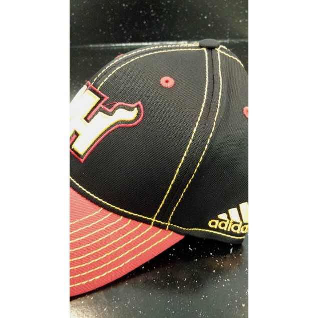"Miami Heat NBA Adidas ""Team Preferred"" Flex Fitted Hat New"
