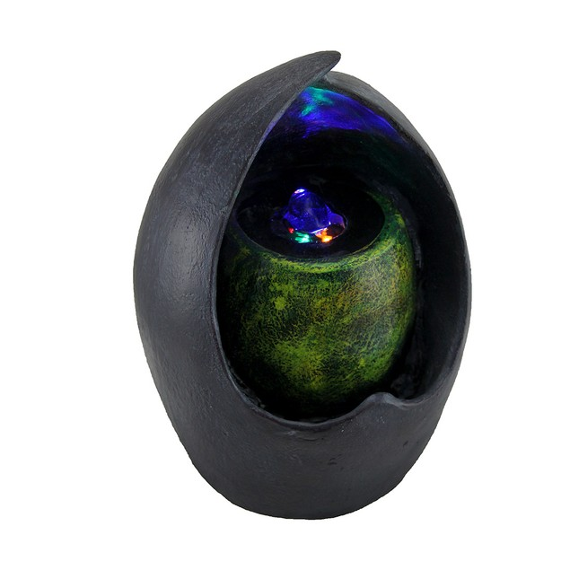 Pot In Pot Decorative Abstract Tabletop Water Tabletop Fountains