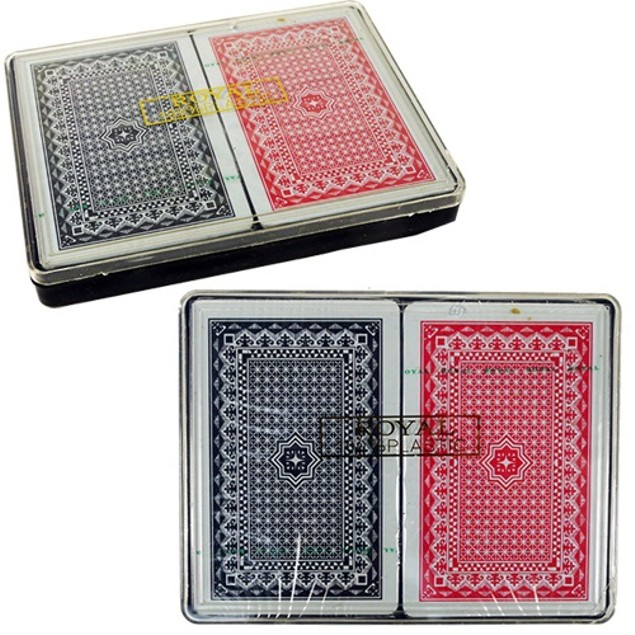 2-Pack Washable Playing Cards