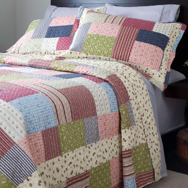 Lavish Home Savannah Quilt 3 Piece Set