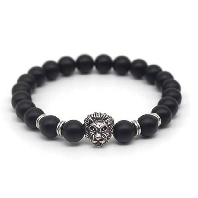 Lion Bead Bracelet
