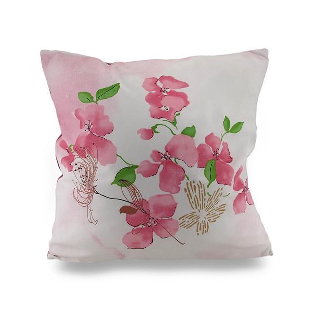 Pair Of Cherry Blossom Decorative Throw Pillows Throw Pillows