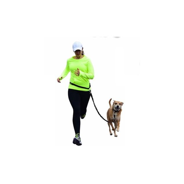 Waloo Pets Hands-Free Running Dog Leash