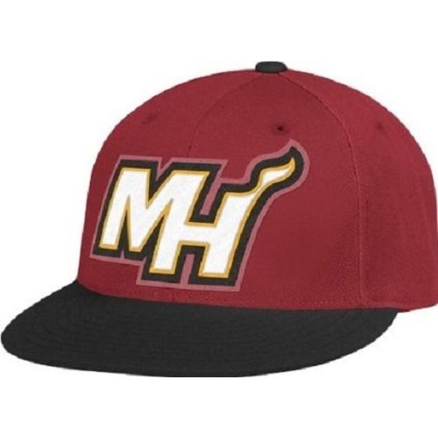 "Miami Heat NBA Adidas ""On Court"" Hat New"