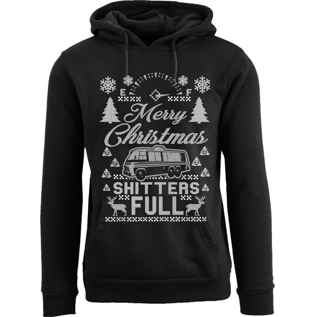 Women's Funny Ugly Christmas Sweater Pull Over Hoodie