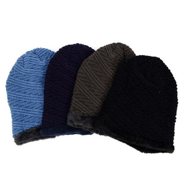 2-Pack Slouchy Oversized Baggy Winter Beanie Hat