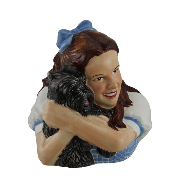 Wizard Of Oz Dorothy Holding Toto Ceramic Money Toy Banks