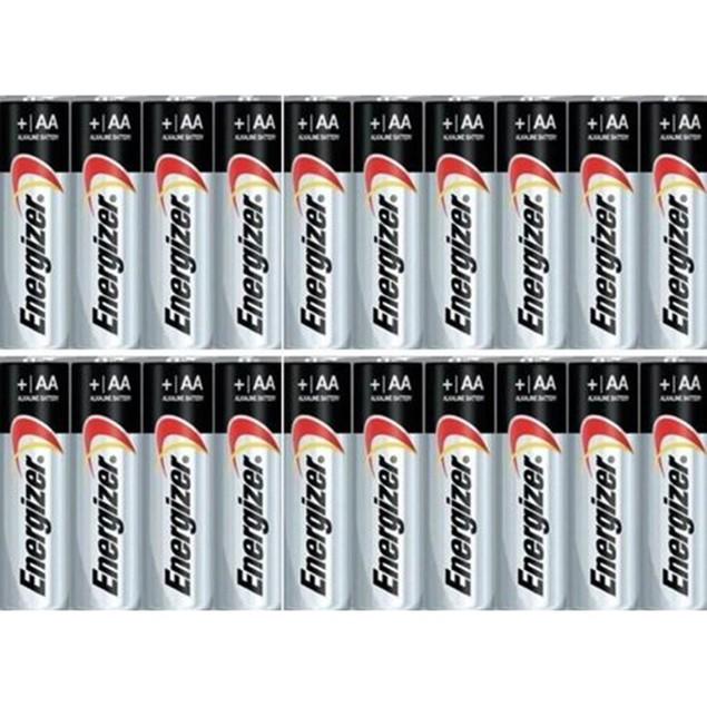 20-Pack Energizer AA/AAA Max Alkaline Batteries
